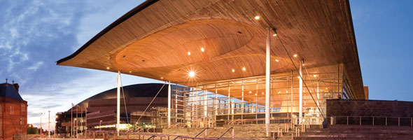 Senedd - home of Welsch Democracy