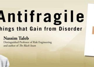 Antifragile by by Nassim Taleb